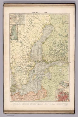 Browse All : Atlas Map of Baltic States - David Rumsey Historical ...