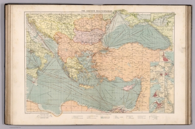 Browse all atlas map of black sea david rumsey historical map the eastern mediterranean gumiabroncs Gallery