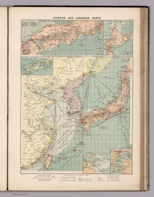Chinese and Japanese ports