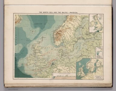 The North Sea and the Baltic - Physical