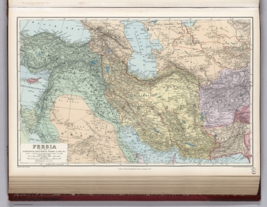 Persia with Parts of Afghanistan, Baluchristian, Turkey in Asia, &c.