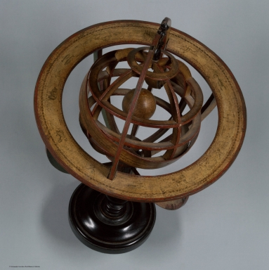Ptolemaic Armillary Sphere. View 2.