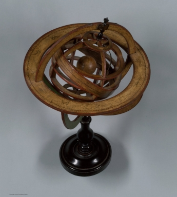 Ptolemaic Armillary Sphere. View 3.