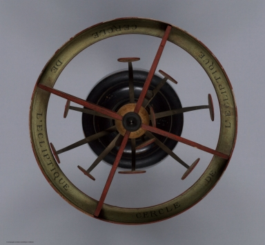 Copernican Armillary Sphere with Orrery. View 1.