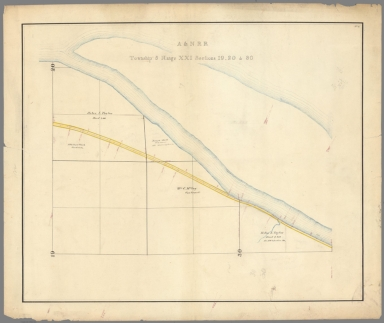 2. A. & N. R.R. (Plans for route of Atchison and Nebraska Railroad)