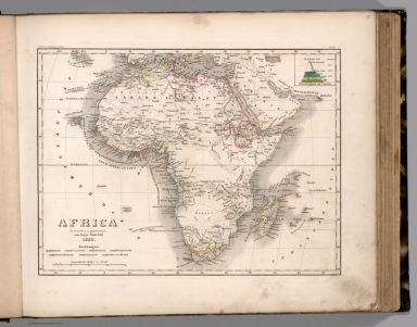 Map Of Africa 1850.Browse All Atlas Map Of Africa From 1850 David Rumsey Historical