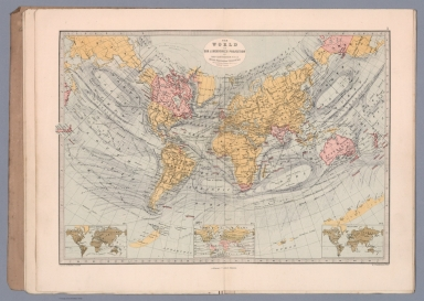 The World on Sir John Herschel's Projection
