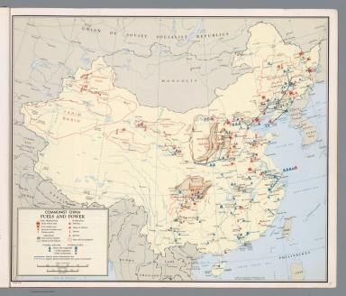 Communist China: Fuels and power