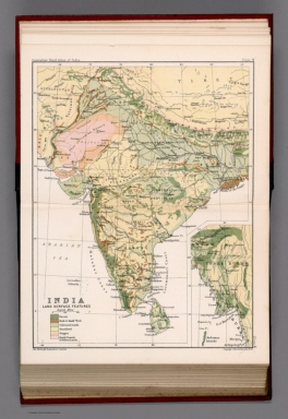 India : Land surface features. Plate 4