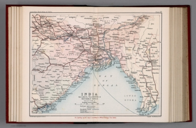 India : Railways, telegraphs, and navigable canals: Section II. Plate 19