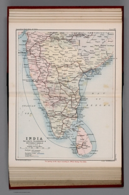 India : Railways, telegraphs, and navigable canals: Section III. Plate 20