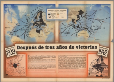 Browse all images from world war ii david rumsey historical map despues de tres anos de victorias septiembre 1939 septiembre 1942 gumiabroncs Choice Image