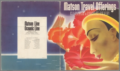 Covers: Matson Travel offerings : Hawaii & South Seas