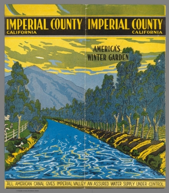 Covers: Imperial County California. America's Winter Garden