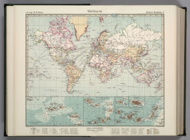 Browse All : World Atlas from 1940 - David Rumsey Historical Map ...