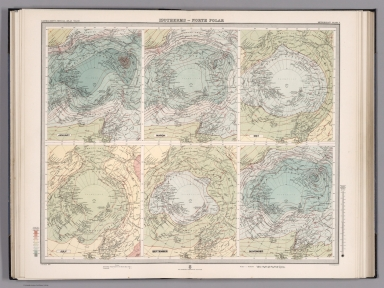Plate 4. Isotherms - North Polar.