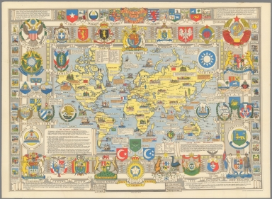 Browse All : Separate Map of World - David Rumsey Historical Map ...