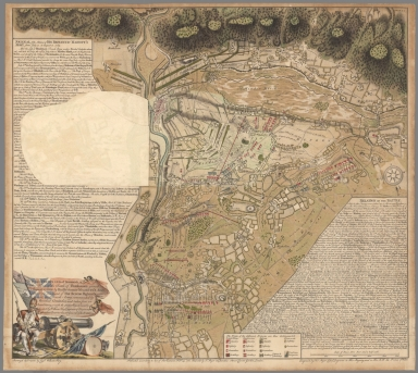 (Flap 1) This Plan of the Battle of Thonhausen gained August 1, 1759