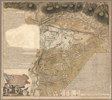 (Flap 2) This Plan of the Battle of Thonhausen gained August 1, 1759