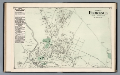 North part of Florence : Town of Northampton
