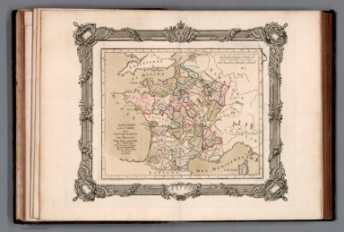 Supplement a la carte des Gouvernemts de France