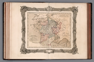 Supplement a la carte des Parlemens de France
