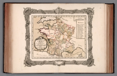 La France, litteraire, ou carte des XXIV universites du Royaume
