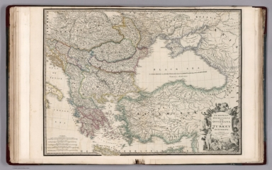 European dominions of the Ottomans, or Turkey in Europe