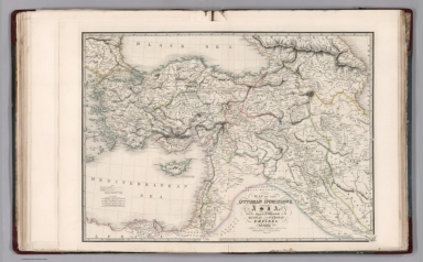 Map of the Ottoman Dominions in Asia