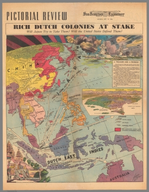 San Francisco Examiner : Rich Dutch Colonies at Stake
