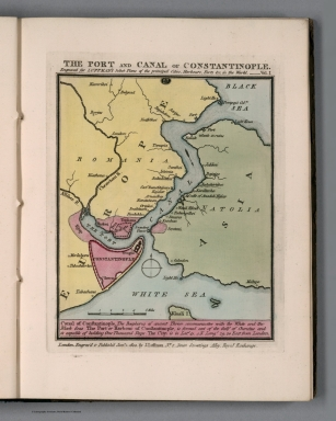 Plate 27 from Vol. 1: The port and canal of Constantinople