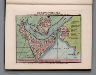 Plate 39 from Vol. 1: Constantinople