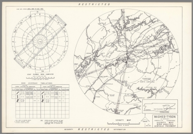 McGhee-Tyson Airport : Knoxville Tennessee : Vicinity map