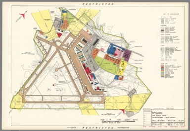 Mc Guire Air Force Base : Wrightstown New Jersey : Preliminary master plan