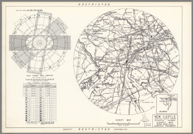 New Castle Municipal County Airport : Wilmington Delaware : Vicinity map