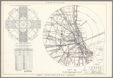 O'Hare International Airport : Chicago Illinois : Vicinity map