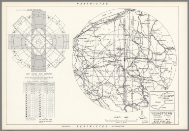 Youngstown Municipal Airport: Youngstown Ohio : Vicinity map