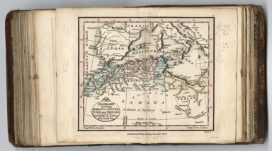 Barbary including Marocco, Algier, Tunis and Tripoly : Country of dates Fezzan &ca