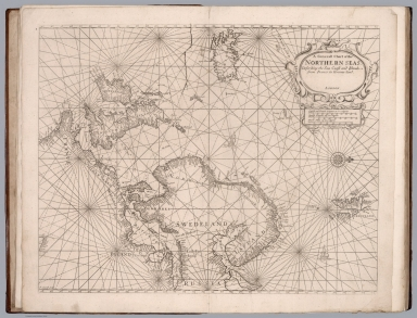 A general chart of the Northern seas