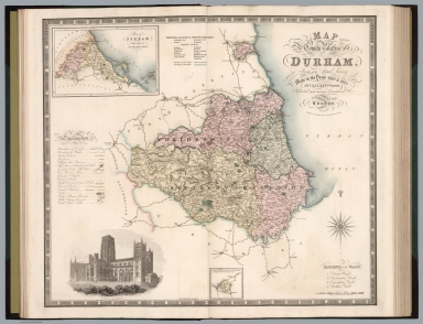 Map of the County Palatine of Durham