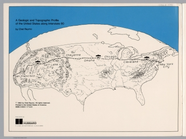 Title Page: A geologic and topographic profile of the United States along interstate 80