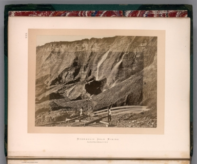 XXX. Hydraulic gold mining : near Dutch Flat, California, C.P.R.R.