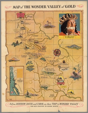 Map of the Wonder Valley of Gold