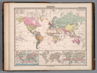 Browse All Atlas Map Of World David Rumsey Historical Map