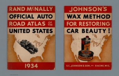 Covers: Rand McNally Official Auto Road Atlas of the United States