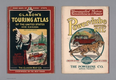 Covers: Clason's Touring Atlas Of The United States And Canada