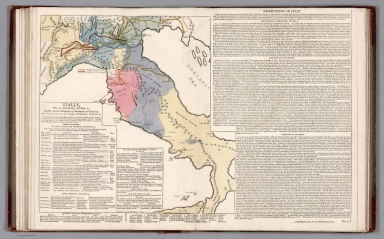 Italy, with her divisions, rivers, &c. No. 11