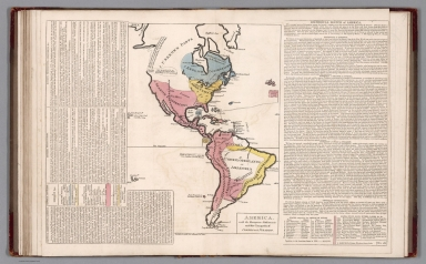 America, with the European settlements. No. 18