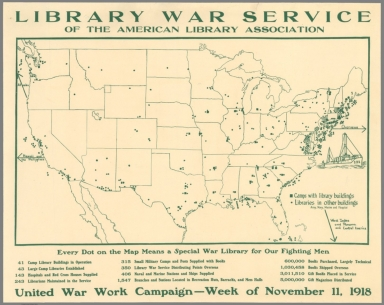 Library War Service of the American Library Association.