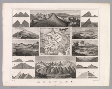 View: Plate 44. Geology: Landforms.